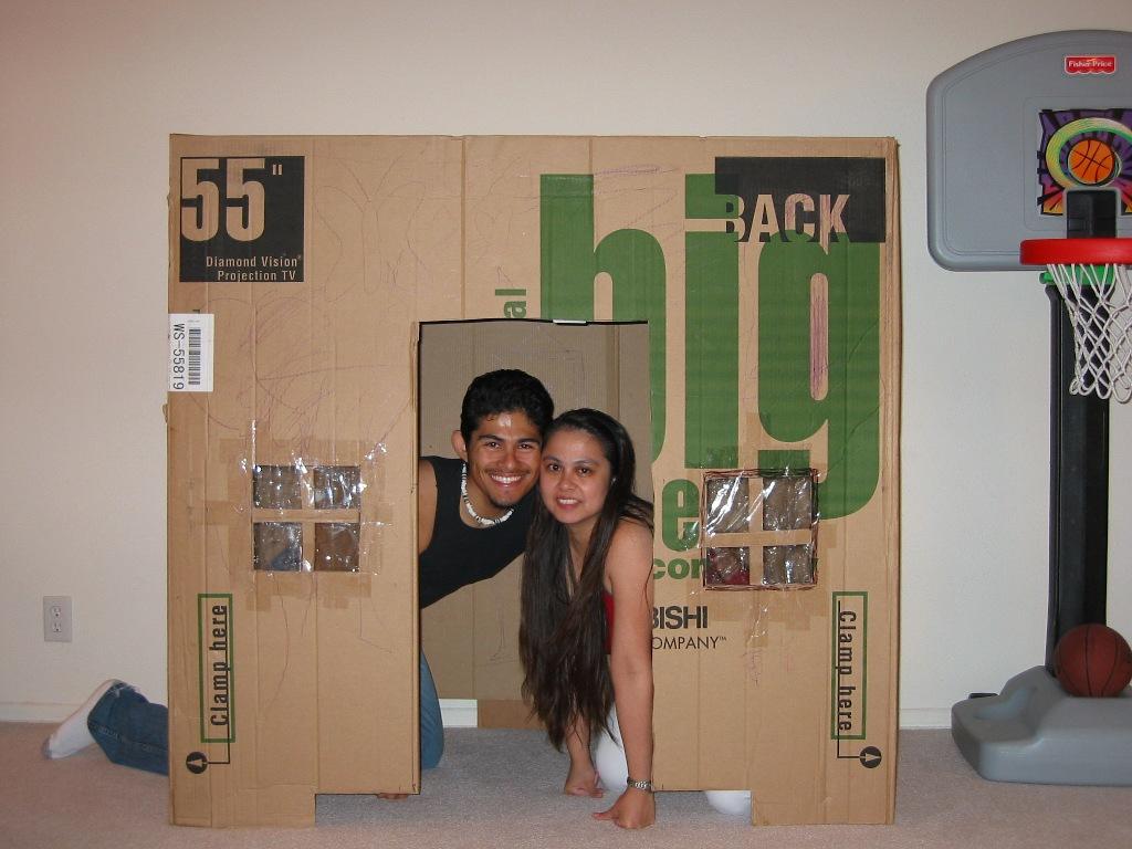 pin big box playhouse on pinterest